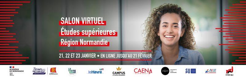 salon virtuel études supérieures région Normandie L'étudiant 2021