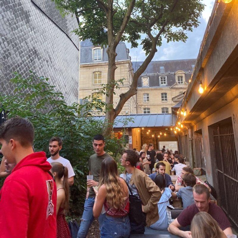 soirée d'intégration des alternants de l'IES Business School à Rouen